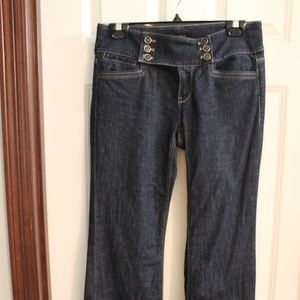 White House Black Market- 2R Blanc Denim Jeans